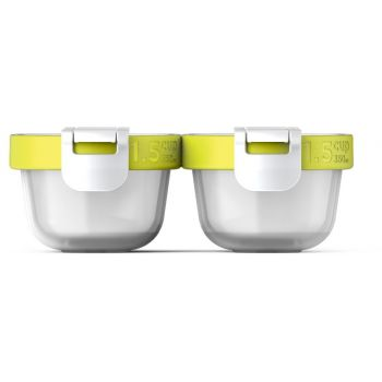 Zoku Neat Stack Snack Pack Set of 4 Pieces