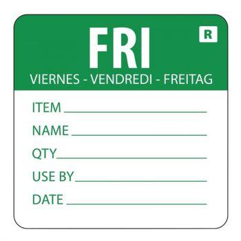 Vogue voedseletiketten kleurcode vrijdag