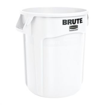Rubbermaid Brute ronde container wit 75.7L