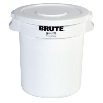 Rubbermaid Brute ronde container wit 121.1L