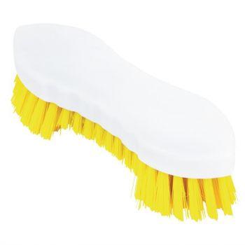 Jantex schrobborstel geel