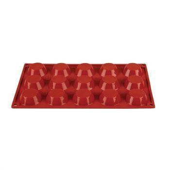 Pavoni Formaflex siliconen bakvorm 15 taartjes