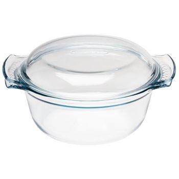 Pyrex ronde glazen casserole 3.5L