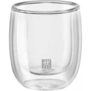 Zwilling Sorrento Dubbelwandig Glas Espresso 80 Ml 2 Dlg Set 39500-075