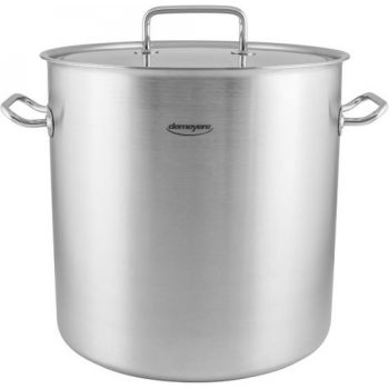 Commercial Soeppot Hoog 36 Cm-36,5 L Met Deksel By Demeyere 90936