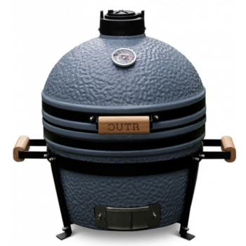 Kamado Grill Medium 40 - Grijs